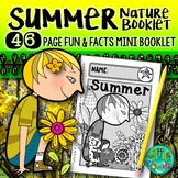 Summer Nature booklet {A booklet of activities celebrating summer}