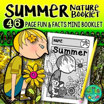 Summer Nature booklet {A booklet of activities celebrating