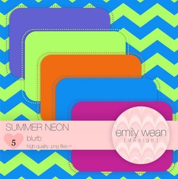 Summer Neon - Blurb FREEBIE