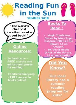Summer Newsletter EDITABLE
