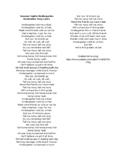 Summer Nights Kindergarten Graduation Song Lyrics and URL