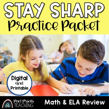 Third Grade Review, Distance Learning, Independent Work Packet