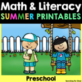 Summer No-Prep Packet {Preschool}