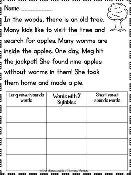 First Grade Summer No Prep Printables Prepping for 2nd grade