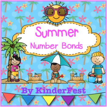 Summer Number Bonds - FREEBIE