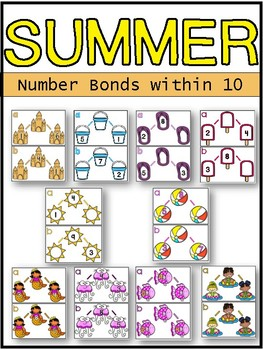 Summer Number Bonds within 10 and 20