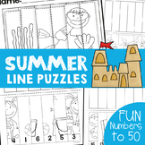 Summer Math Activities for Numbers and Counting