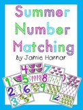 Summer Number Matching 1-20