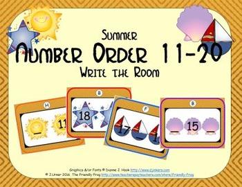 Summer Number Order 11-20