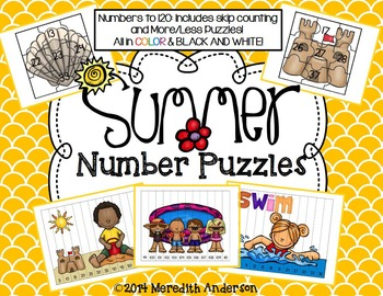 Summer Math Puzzles: Numbers To 120