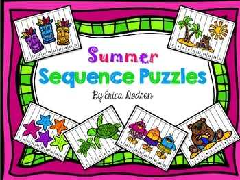 Summer Number Sequence Puzzles