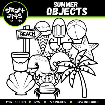 Summer Objects Clip Art