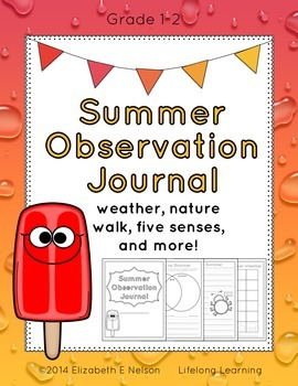 Summer Observation Journal