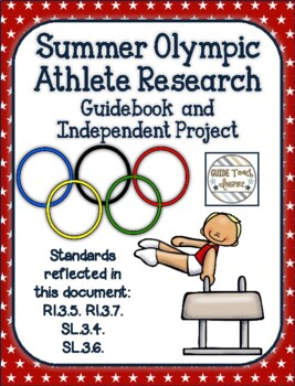 Summer Olympic Athlete Research - Independent Study Project and Class Booklet