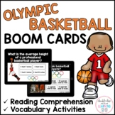 Summer Olympic Basketball BOOM CARDS™ for Distance Learnin