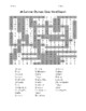 Summer Olympic Cities Word Search