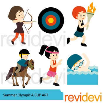 Summer Olympic Clip Art