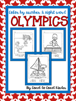 Summer Olympic Games- Color by Code