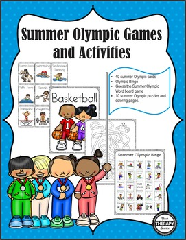Summer Olympic Games Packet