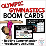 Summer Olympic Gymnastics BOOM CARDS™ for Distance Learnin