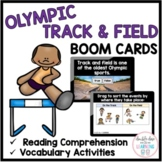 Summer Olympic Track & Field BOOM CARDS™ (digital task cards)