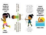 Summer Olympic Joke Bookmarks