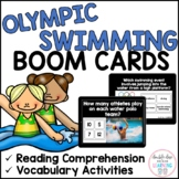 Summer Olympic Swimming BOOM CARDS™ for Distance Learning