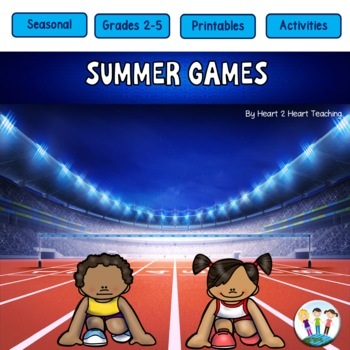 Summer Olympics 2016 Activity Pack with Michael Phelps & S