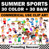 Summer Olympics Clip Art, Sports Clipart