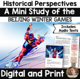 Winter Olympics 2018 Flip Book: An Interactive Activity for Grades 2-5