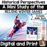 Winter Olympics 2018 Flip Book: An Interactive AND Digital Activity- Grades 2-5