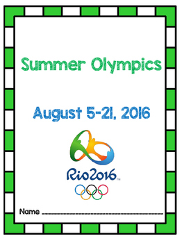 Summer Olympics 2016 - Rio - August 5th- August 21st