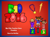 Summer Olympics 2016 Rio PowerPoint