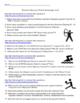 Summer Olympics 2016 Task Cards or Online Scavenger Hunt b