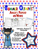 Summer Olympics: Author's Purpose and Writing