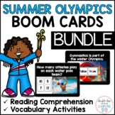 Summer Olympics BOOM CARDS™ BUNDLE for Distance Learning