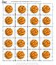Alphabet Basketbal Kindergarten Special Education Autism Cut Paste Fine Motor