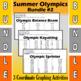 Summer Olympics - Bundle #2 - 4 Coordinate Graphing Activities