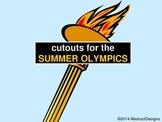 Summer Olympics Cutouts