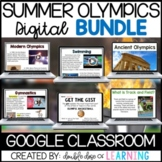 Summer Olympics Digital BUNDLE for Google Classroom! (6 un