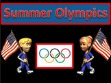 Summer Olympics ELA, Social Studies, and Math Unit