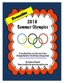 Summer Olympics Freebie