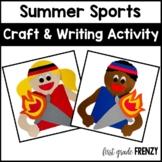 Summer Olympics Games Craftivity