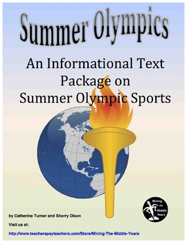 Olympics:  Informational Text