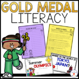 Summer Olympics Word Work and Reading Comprehension