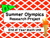 Summer Olympics Math Project