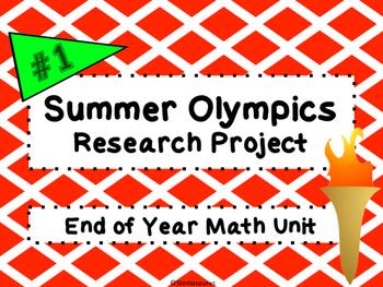 Summer Olympics Math Project