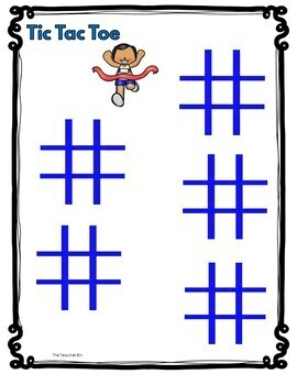 Kindergarten-Special Education-Summer Games Math- Literacy Activities