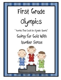 First Grade Summer Olympics:  Number Sense