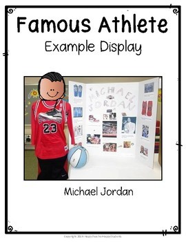 Olympics Research Project - Famous Olympians - Perfect for Summer Olympics 2016!